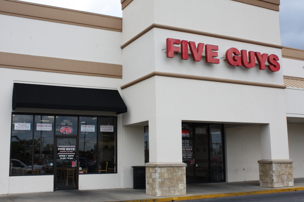 Five Guys Building